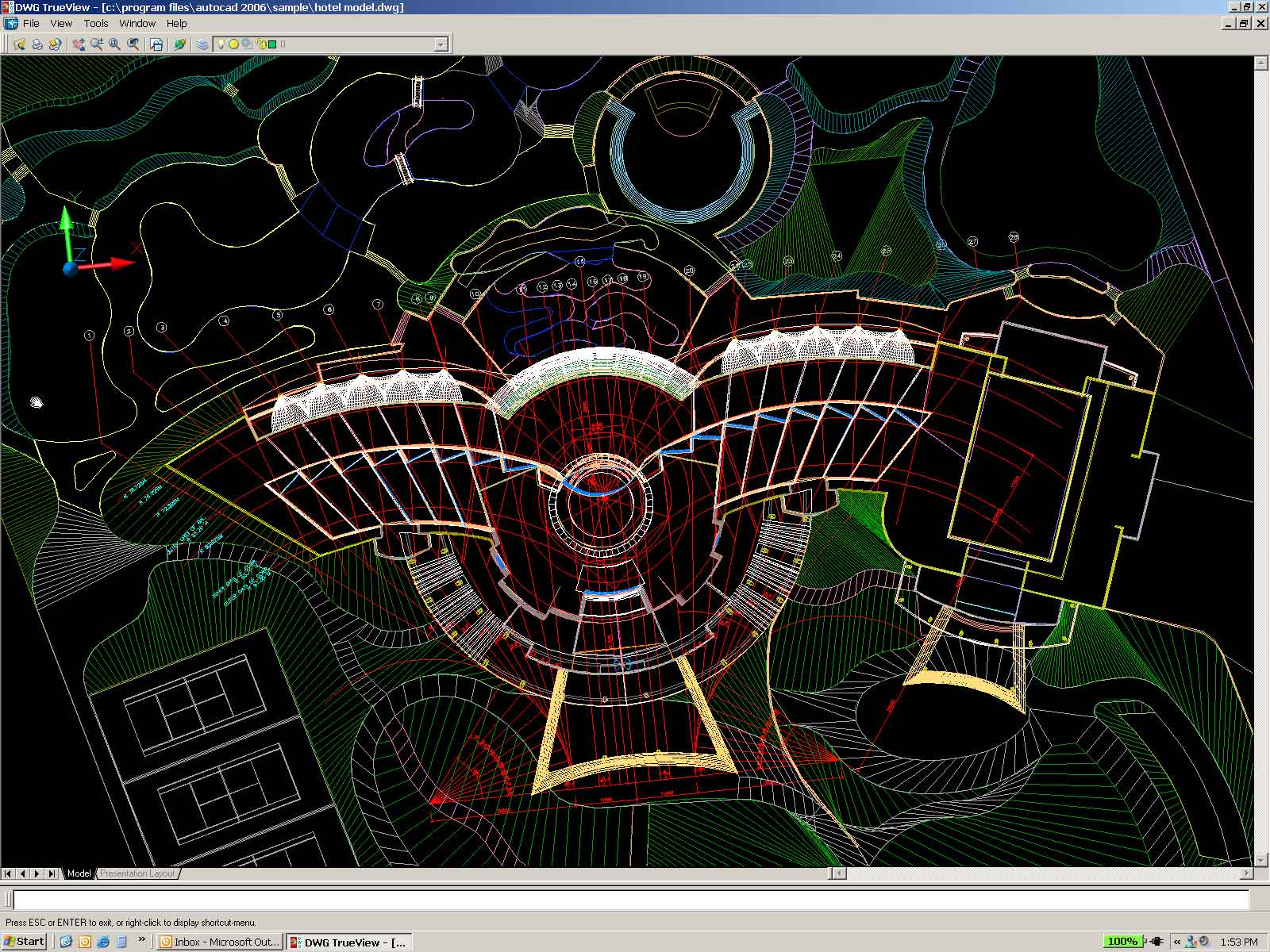 DWG TrueView 64-bit full screenshot